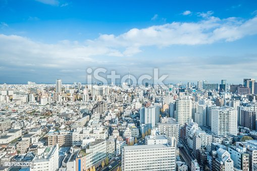 931105838 istock photo panoramic modern city skyline aerial view of bunkyo, tokyo, Japan 937983202