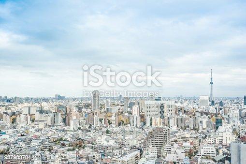 931105838 istock photo panoramic modern city skyline aerial view of bunkyo, tokyo, Japan 937983704