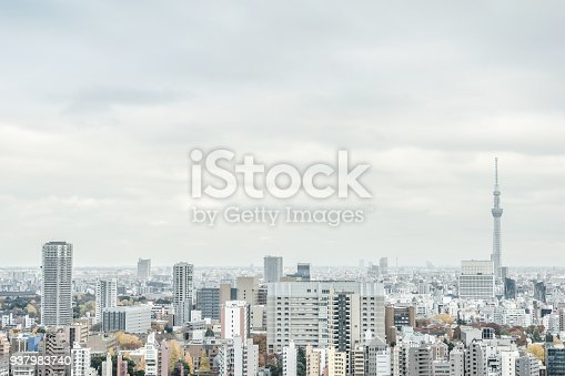 931105838 istock photo panoramic modern city skyline aerial view of bunkyo, tokyo, Japan 937983740