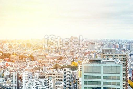 931105838 istock photo panoramic modern city skyline aerial view of bunkyo, tokyo, Japan 937983780