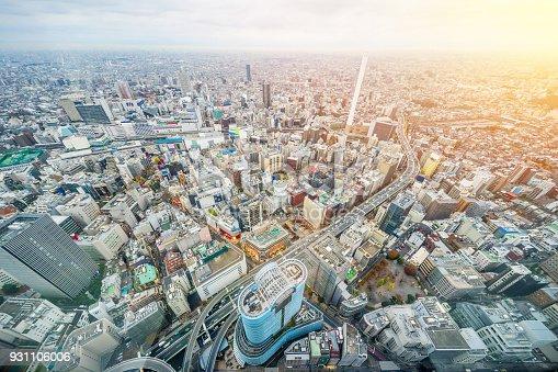 931105838 istock photo panoramic modern city skyline aerial view of Ikebukuro and expressway in tokyo, Japan 931106006