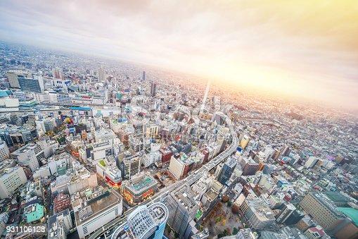 931105838 istock photo panoramic modern city skyline aerial view of Ikebukuro and expressway in tokyo, Japan 931106128