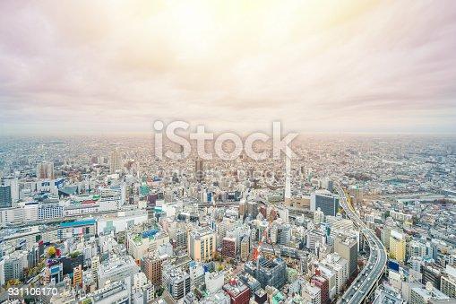 931105838 istock photo panoramic modern city skyline aerial view of Ikebukuro and expressway in tokyo, Japan 931106170