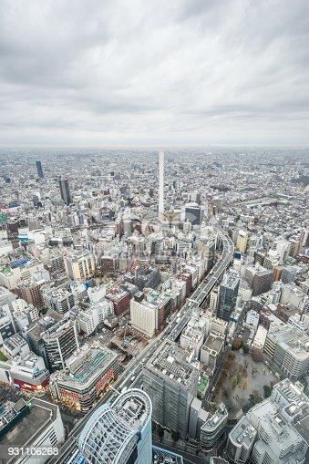 931105838 istock photo panoramic modern city skyline aerial view of Ikebukuro and expressway in tokyo, Japan 931106268
