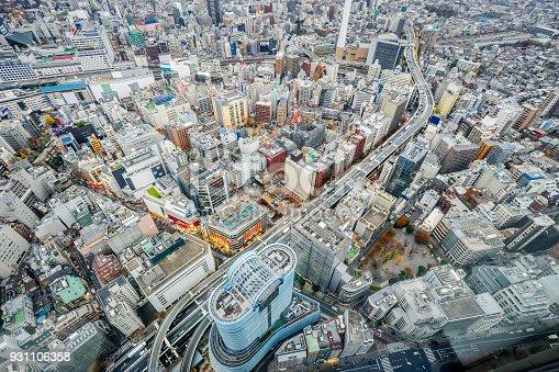 931105838 istock photo panoramic modern city skyline aerial view of Ikebukuro and expressway in tokyo, Japan 931106358