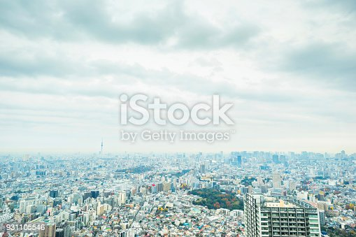 931105838 istock photo panoramic modern city skyline aerial view of Ikebukuro in tokyo, Japan 931105546