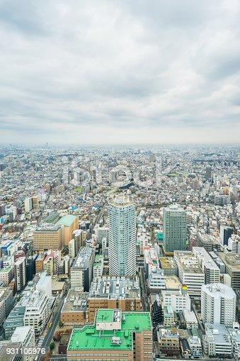 931105838 istock photo panoramic modern city skyline aerial view of Ikebukuro in tokyo, Japan 931105976