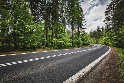 panoramic mountain road (HDRi)
