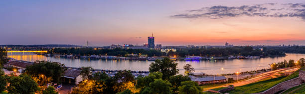 Panoramablick auf Belgrad – Foto