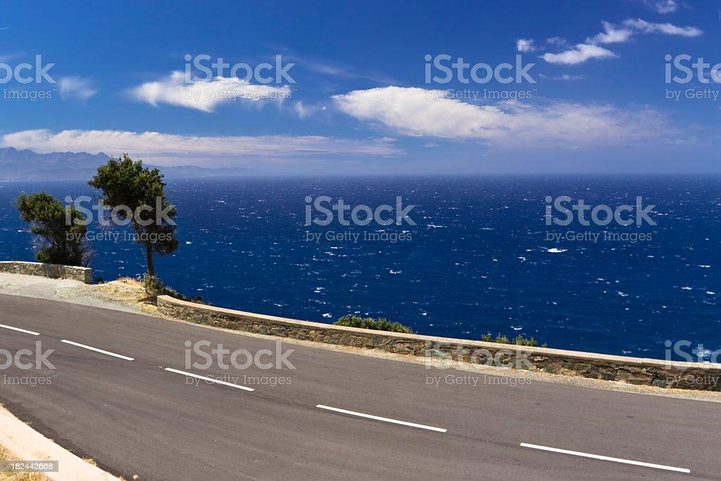 panoramic road royalty-free stock photo