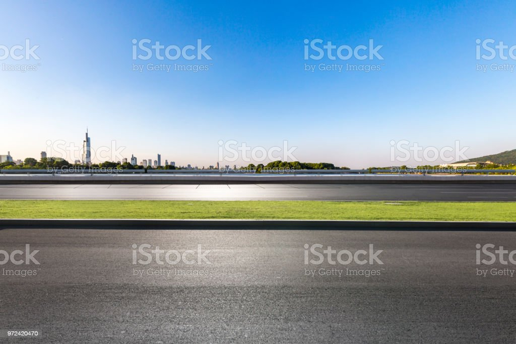 Panoramic Skyline And Modern Business Office Buildings With