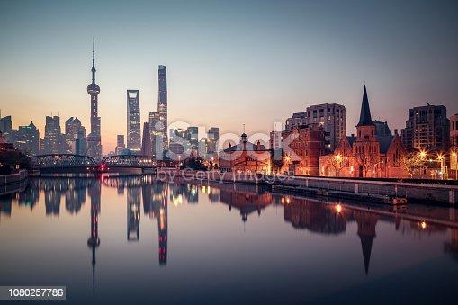 China - East Asia, Shanghai, City, Urban Skyline, Cityscape
