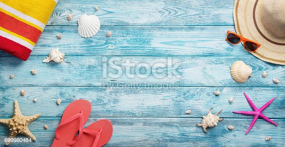 istock Panoramic summer background 699960484
