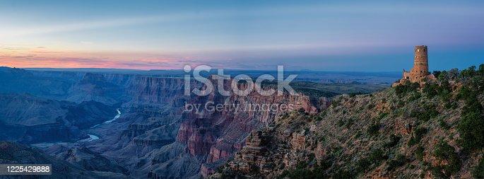 Panoramic Sunset Desert View Watchtower - Grand Canyon National Park