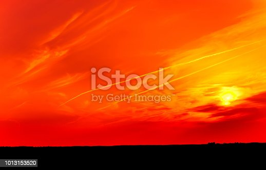 istock Panoramic Surreal landscape 1013153520