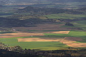 istock Panoramic view from Jested mountain near Liberec in Czech republic 623356472