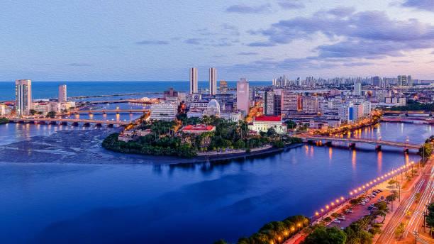 Panoramablick von Recife – Foto