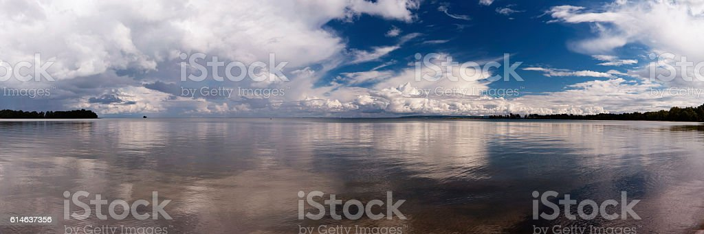 Panoramic View in Vaestergoetland West Gothland, Sweden stock photo
