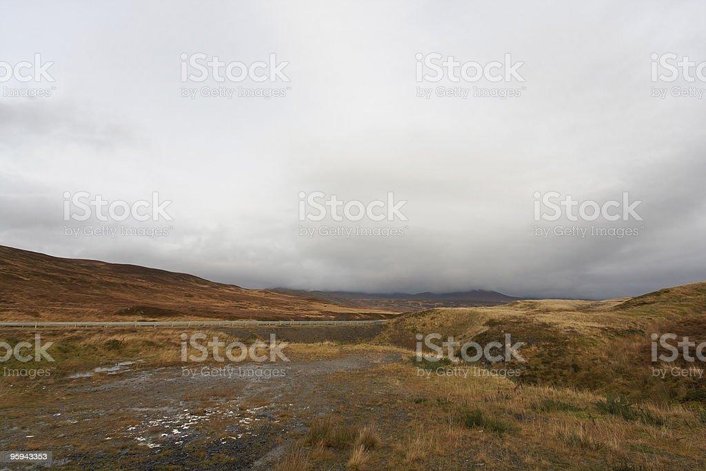 panoramic view near Ullapool royalty-free stock photo