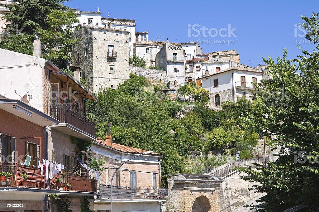 Panoramic view of Alberona. Puglia. Italy. royalty-free stock photo