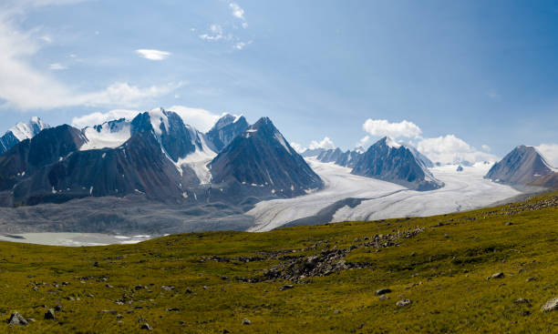 góry ałtaj - państwowy rezerwat przyrody altay zdjęcia i obrazy z banku zdjęć