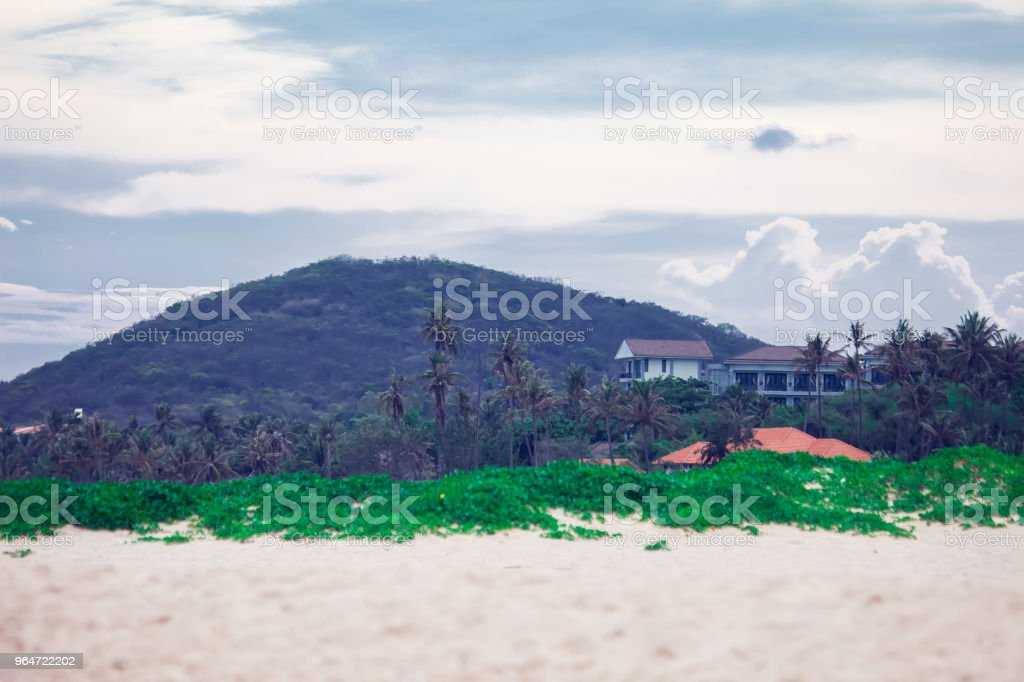 Panoramic view of beautiful mountain landscape royalty-free stock photo