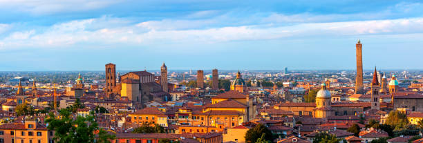 Panoramablick über Bologna - Italien – Foto