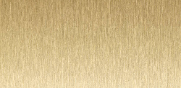 panoramic view of bronze gold metallic texture background. stock photo