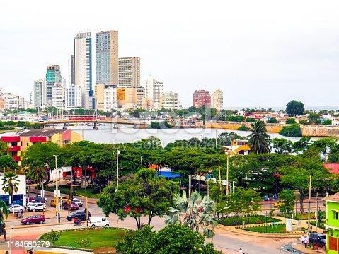 1148861090istockphoto Panoramic view of Cartagena Colombia 1164580279