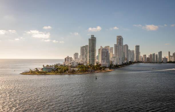 Panoramablick auf Cartagena, Kolumbien – Foto