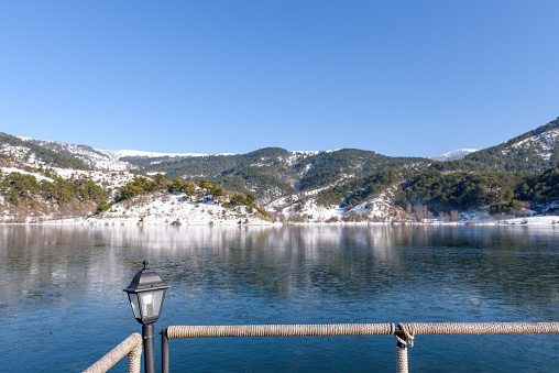 Goynuk에서 Cubuk 호수의 파노라마 보기 0명에 대한 스톡 사진 및 기타 이미지