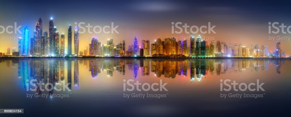 Royalty Free Skyline Of Dubai Background Pictures Images And Stock