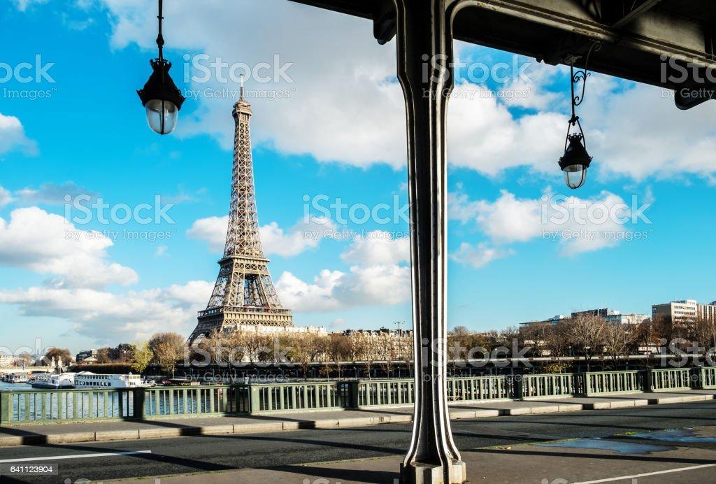 Vue panoramique sur la Tour Eiffel - Photo