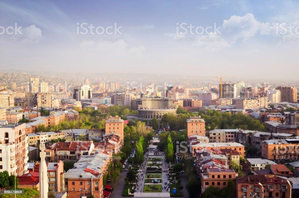 Panoramablick Von Eriwan Der Hauptstadt Von Armenien Stockfoto Und Mehr Bilder Von Alt Istock