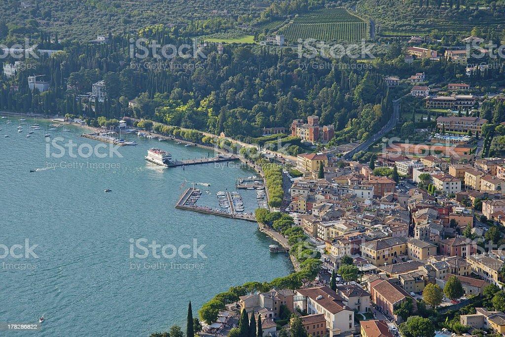 Vue panoramique de Garda - Photo