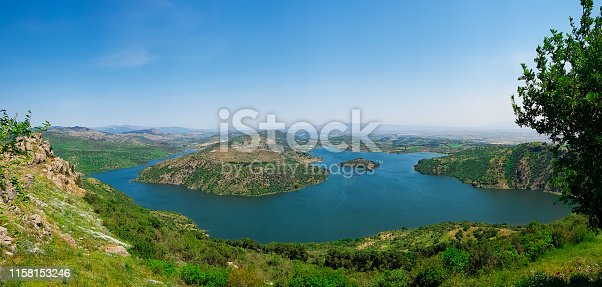 Dam, Lake, Pergamon, Water, Nature, Bergama, Izmir, Turkey -Middle East, Landscape - Scenery