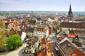 Panoramic view of Konstanz, Germany