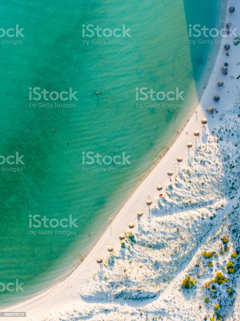 Vista panorámica de La playa de la Paz México - foto de stock