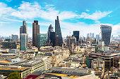 istock Panoramic view of London 1257456978