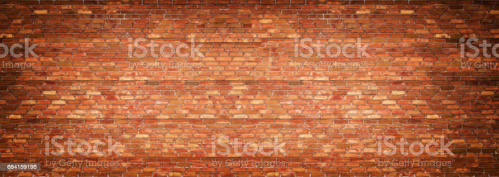 panoramic view of masonry, brick wall as background zbiór zdjęć royalty-free