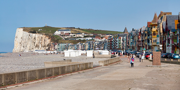 Panoramic View Of Merslesbains Stock Photo - Download Image Now