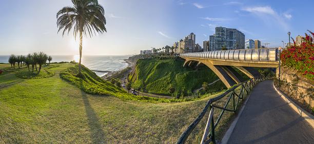 istock Panoramic view of Miraflores, Lima, Peru 1163226420