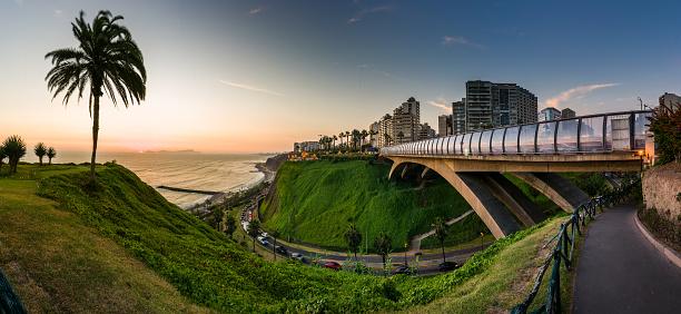 istock Panoramic view of Miraflores, Lima, Peru 1163226486