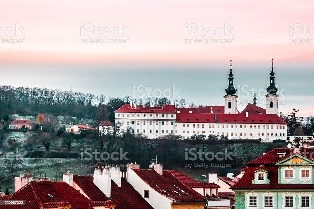 Panoramic View of Prague, Czech Republic foto royalty-free