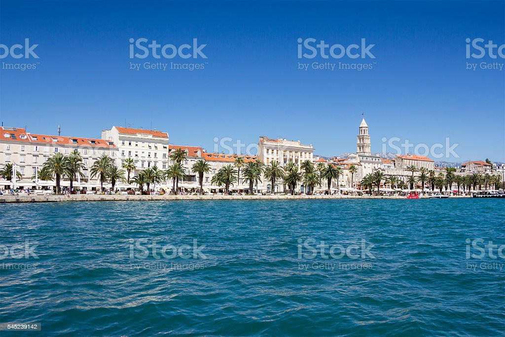 Panoramic view of Split Croatia - Photo