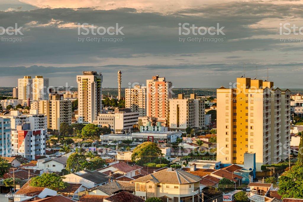 Vista panorâmica da cidade de Bauru. São Paulo. Brasil - foto de acervo