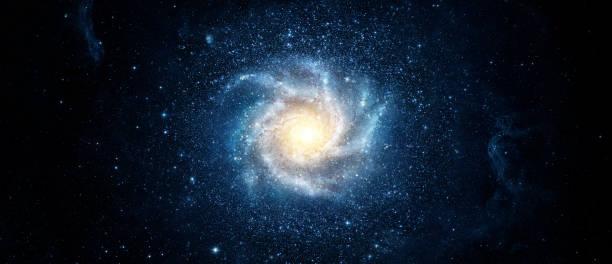 panoramablick von der galaxie und sterne. abstrakten raum hintergrund. elemente des bildes von der nasa eingerichtet. - sternhaufen stock-fotos und bilder