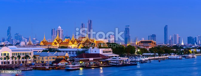 Ancient and New in Downtown Bangkok