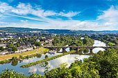 istock Panoramic view of Trier 1257460941