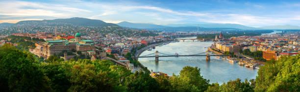 Panoramic view on Budapest
